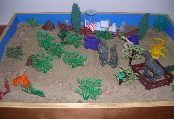 טיפול בארגז חול
